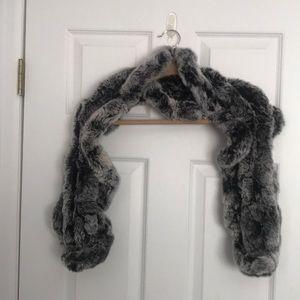 Accessories - Rabbit Fur Scarf